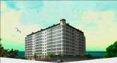 Доходные апартаменты с панорамным видом на море. Затока.