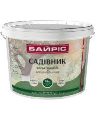 Paint protective for trees and bushes of 14 kg the