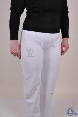 Брюки спортивные женские трикотажные брюки