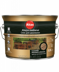 Oil for wood of 2,5 l, Altax