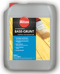 BASE — GRUNT Soil substrate for wood deeply