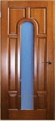 Doors are interroom, pine doors to the room (No.