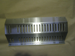The decorative panel for finishing zhd cars