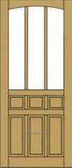 Entrance doors wooden it is not expensive (No. 62)
