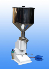 The pneumatic A02 batcher for pastelike 5 - 70 ml