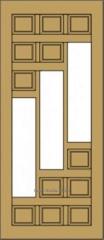 Двери на дачу, двери деревянные в дом (№73)