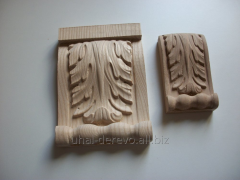 Carving pilaster