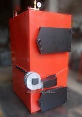 Котлы газогенераторного типа: стальные твердотопливные (пиролизные)