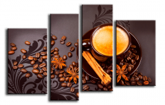 Modular picture of Coffee with cinnamon 221