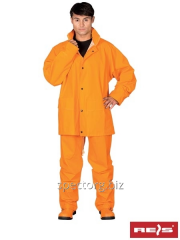 Suit protective from a rain high-strength KPLPU P