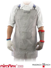Apron protective of steel (75X45) Niroflex 2000