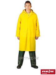 Raincoat moisture protective with a hood of PPD Y
