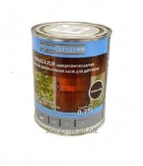 Akvalazur of 0,75 l - protection for wood Bayris,