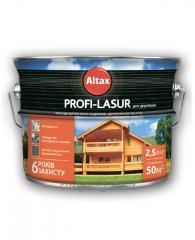 PROFI-LASUR for wood of 0,75 l, 0008