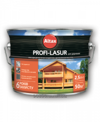 PROFI-LASUR Altax for wood z wax of 2,5 l, 0009