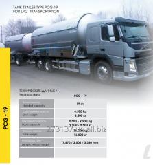 Semi-trailer tank gas PCG-19
