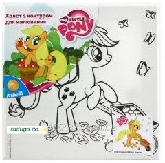 Canvas with a contour of Me Little Pony LP15-261K