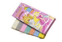 Plasticine with spangles the Cinderella 446