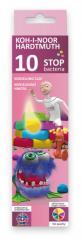 Bactericidal Stop Bacteria 10 plasticine of colors