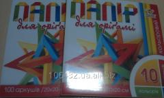 Paper color for origami 10tsv 100 l 944076