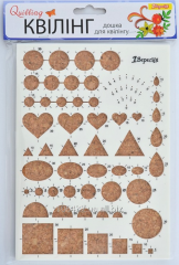 Board for a kvilling of the Figure 224190