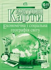 Contour maps 10th class of Ekonom_chn і sotsalna