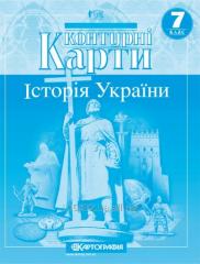 Contour maps 7th class _stor_ya Ukra§ni 1505