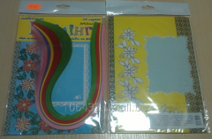 Set for a kvilling No. 13 the Greeting card of 120