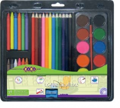 Set for drawing of 39 objects the Young Artist