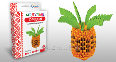 Set for creativity of 3D origami Pineapple 951919