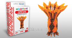 Set for creativity of ZD of origami the Flower