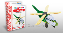 Set for creativity of ZD of origami the Helicopter
