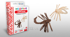 Set for creativity of ZD of origami Two scorpions