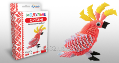 Set for creativity of ZD of origami of the