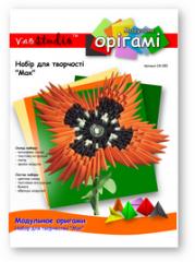 Set for creativity modular origami OK-080 Poppy