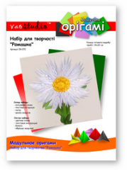 Set for creativity modular origami OK-070 Camomile