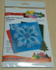 Set for creativity modular origami OK-205