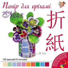 Set of color paper for origami 12kh12sm 950284