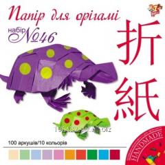 Set of color paper for origami 20kh20sm 950282