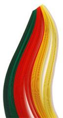 Set of color strips for a kvilling No. 19 Summer