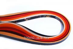Set of color strips for a kvilling No. 28 Mack of