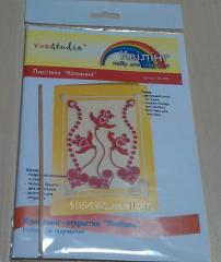 Card from a kvilling Lyubov QK-005