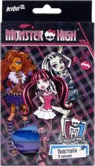 Plasticine soft 12tsv 200gr Monster High 25719