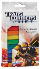 Plasticine soft 12tsv 200gr Transformers TF13-086K