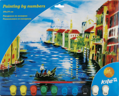 Coloring according to numbers 39kh29sm Venice