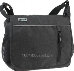 Teen bag with the handle through a shoulder and