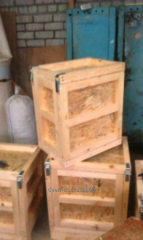 Production of wooden boxes