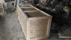 Tare boxes wooden, Kharkiv