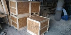 Ящики й коробки тарні дерев'яні