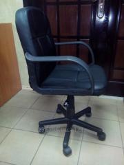 Кресло компьютерное кожаное